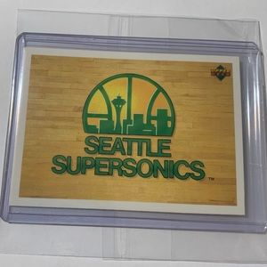 Seattle SuperSonics Upper Deck Team Card '92